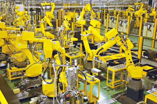 Introduction Of Factories Factories About Fanuc