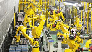 SERVO Factory - Automated assembly of SERVO MOTORs