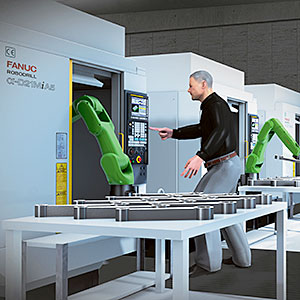 Introduction Of Robots For The Machine Tending Industry