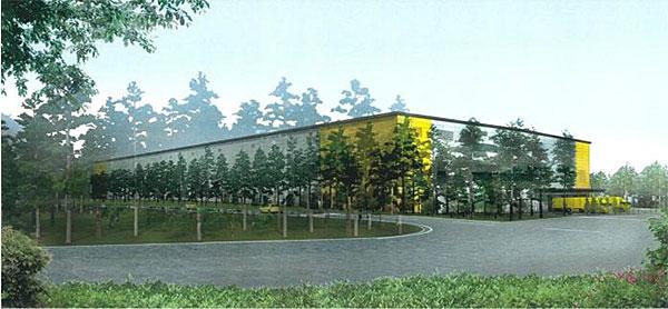 新サーボモータ部品加工工場